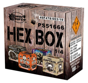 hex box zorts fireworks