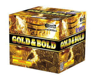 gold and bold firework zorts