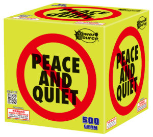 no peace and quiet zorts fireworks