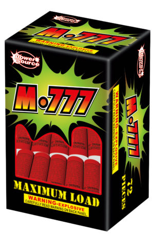 m-777 firecrackers zorts fireworks