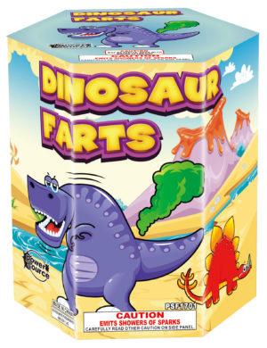 dinosaur farts fountain zorts fireworks