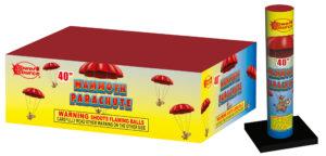 mammoth parachute zorts fireworks