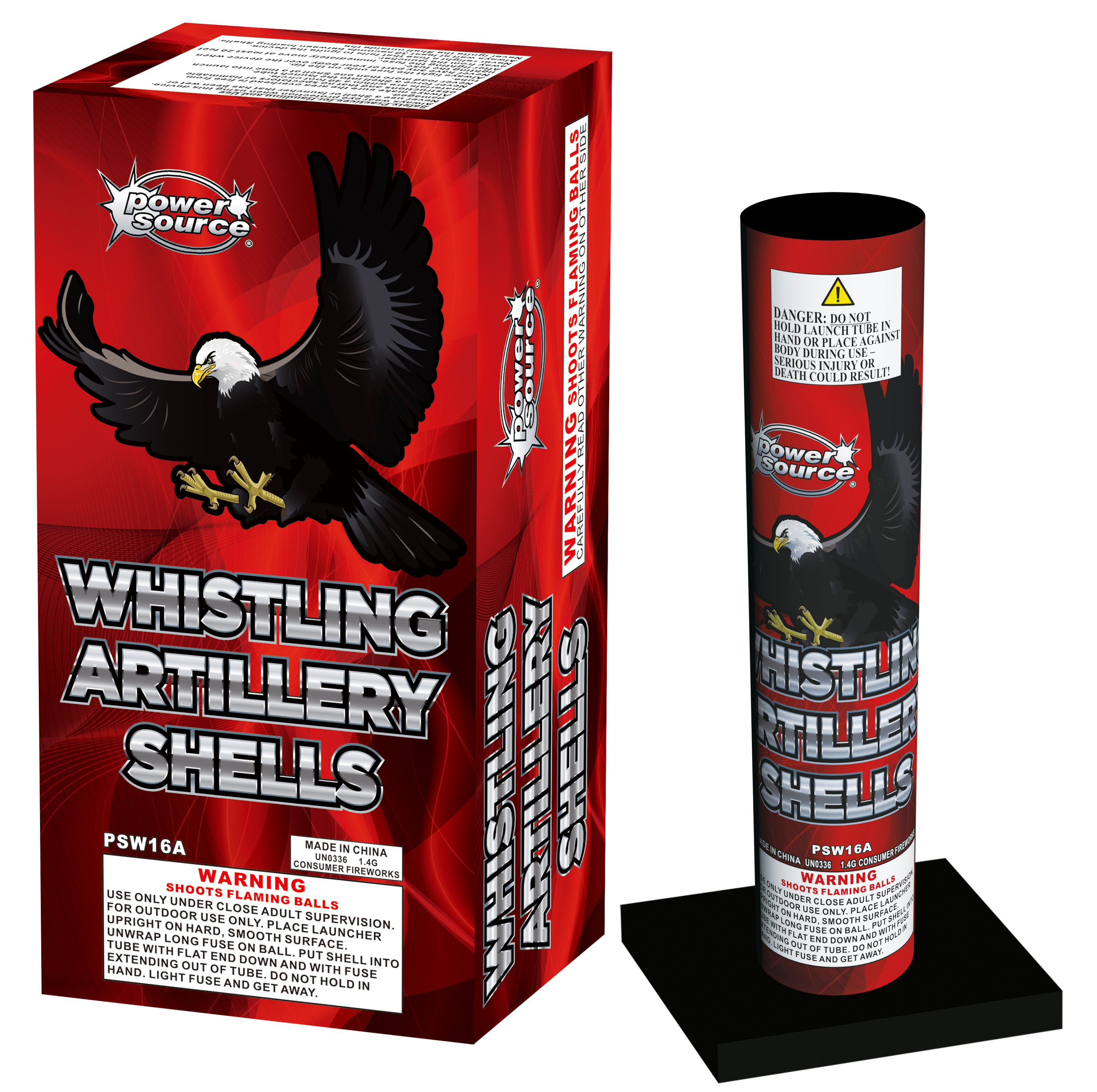 Whistling Artillery Shells - Zort's Fireworks