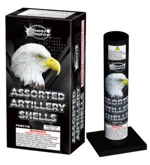 assorted artillery shells zorts